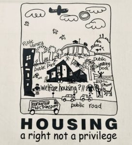 housing is a right not a privilege